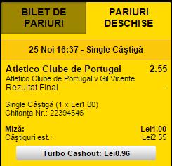 TURBO Cashout 1 RO