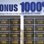 Promoția toamnei la pariuri! Unde beneficiezi de bonus 1000%