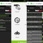 Pariuri online NetBet. Tutorial pentru mobil