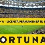 COMUNICAT | Fortuna a primit licenta permanenta in Romania