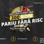 Bonus nou pentru cea mai apreciata casa de pariuri online din Romania