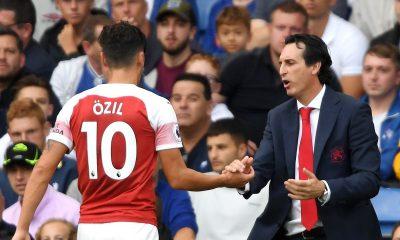 Arsenal, Ozil, Emery