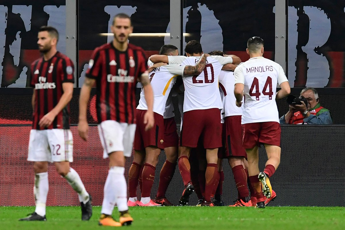 AS Roma vs Milan