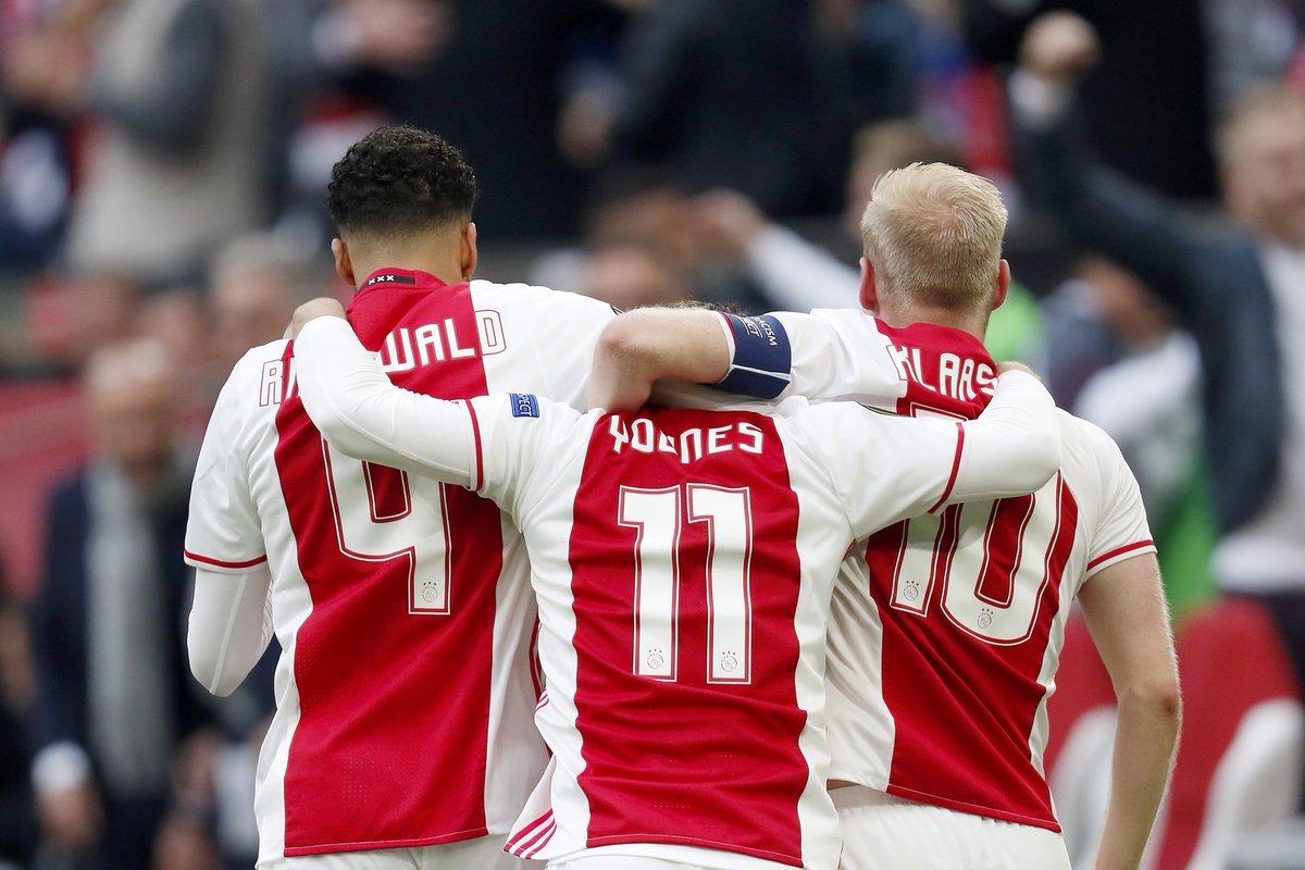 Grup jucători Ajax