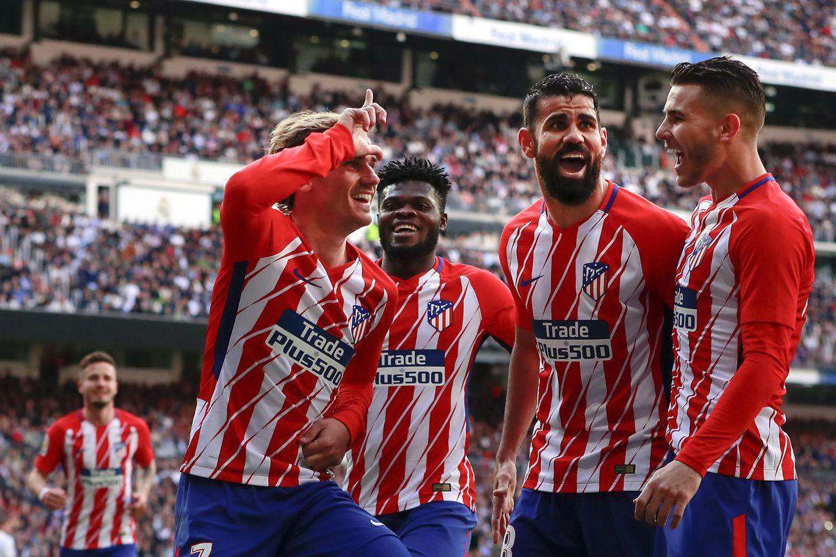 bucurie gol Atletico de Madrid