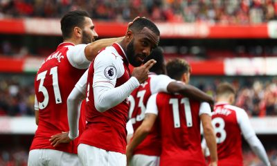 bucurie gol Arsenal