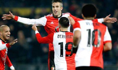 Robin van Persie, Feyenoord