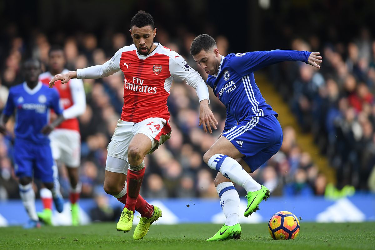 Arsenal vs Chelsea, Hazard