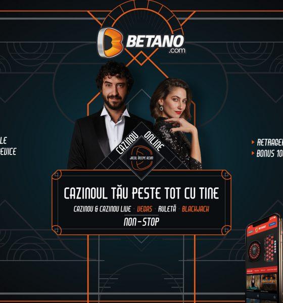 Casino live la Betano. Ce bonus primești și ce jocuri sunt disponibile