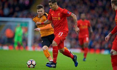 Wolves vs Liverpool, Firmino duel pentru minge