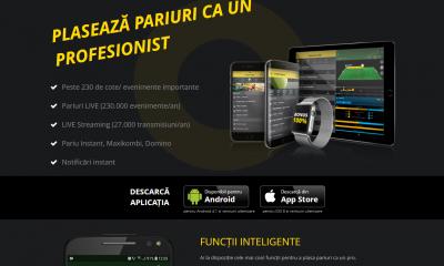 Aplicația Fortuna pentru Android și iOS
