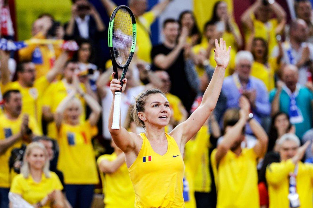 Simona Halep - Caroline Garcia LIVE STREAM FED Cup