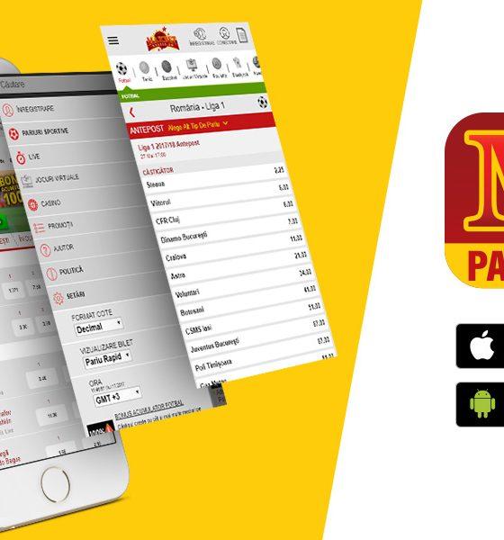 Aplicație mobil Maxbet pentru iOS și Android. Cum o descarci