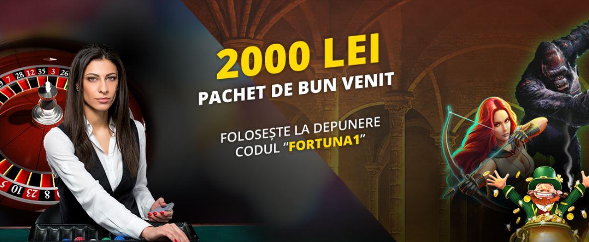 Bonus bun venit Fortuna