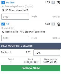 Biletul Zilei 25 iunie 2020. Cota 2 din La Liga