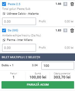 Bilet Serie A din 28 iunie 2020. Ne triplăm banii cu două super ponturi