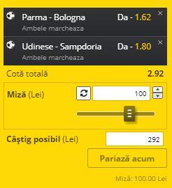 Biletul cu fotba din Serie A, 12 iulie 2020. Super ponturi pentru un profit rapid