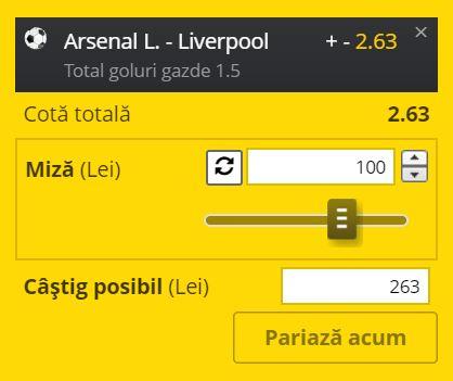 Ponturi pariuri Arsenal – Liverpool (15 iulie 2020)