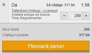 Ponturi pariuri Tottenham - Liverpool, 28 ianuarie 2021. Pariem la siguranță pentru profit