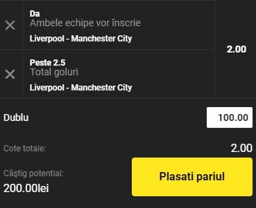 Ponturi pariuri Liverpool vs Manchester City, 7 februarie 2021. Cota profitabilă e servită