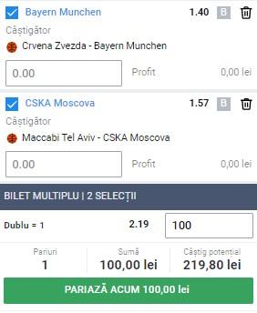 Bilet baschet 2 martie 2021. Ne dublăm banii pe două meciuri din Euroligă