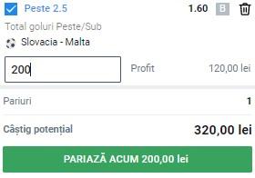 Pontul zilei din 27 martie 2021. Profit din goluri la Slovacia - Malta