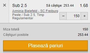 Pontul zilei din 9 aprilie 2021. Facem profit din Bundesliga