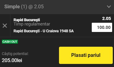 Ponturi pariuri Rapid - FC U Craiova, 17 mai 2021. Promovarea giuleștenilor ne aduce profit