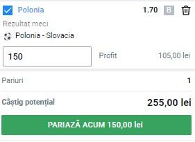 Pontul zilei din 14 iunie 2021. Pariem pe victorie la Polonia - Slovacia