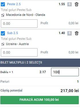 Biletul pe goluri din 21 iunie 2021. Pariem pe meciurile grupei C de la EURO