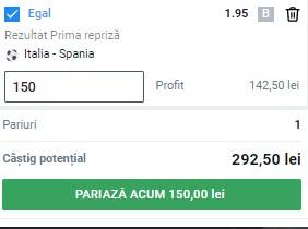 Ponturi pariuri Italia - Spania, 6 iulie 2021. Semifinala EURO 2020 se pariază în cotă 1,95