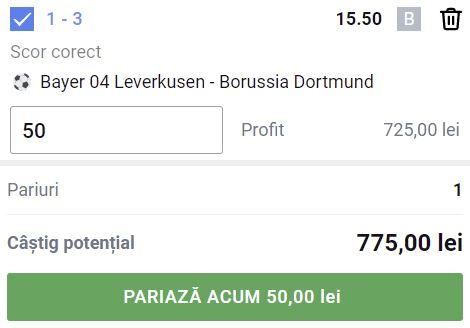 Bayer Leverkusen - Borussia Dortmund (11 septembrie 2021)