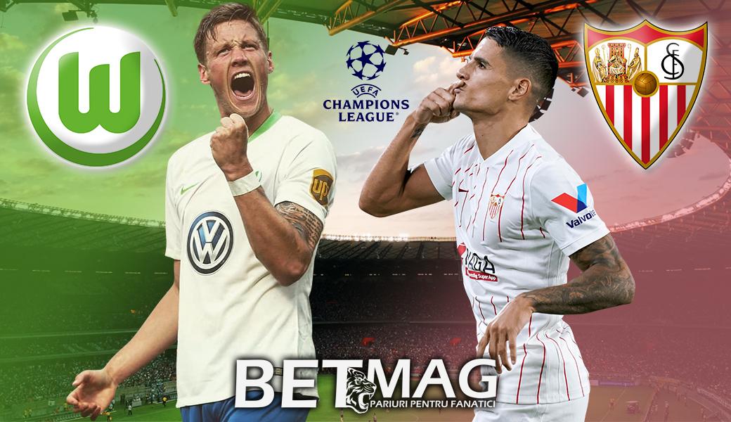 Liga Campionilor: Wolfsburg – FC Sevilla