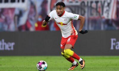 Nkunku, venit de la PSG, e omul momentului, cu şapte goluri şi trei assisturi în cele 9 meciuri din acest sezon.