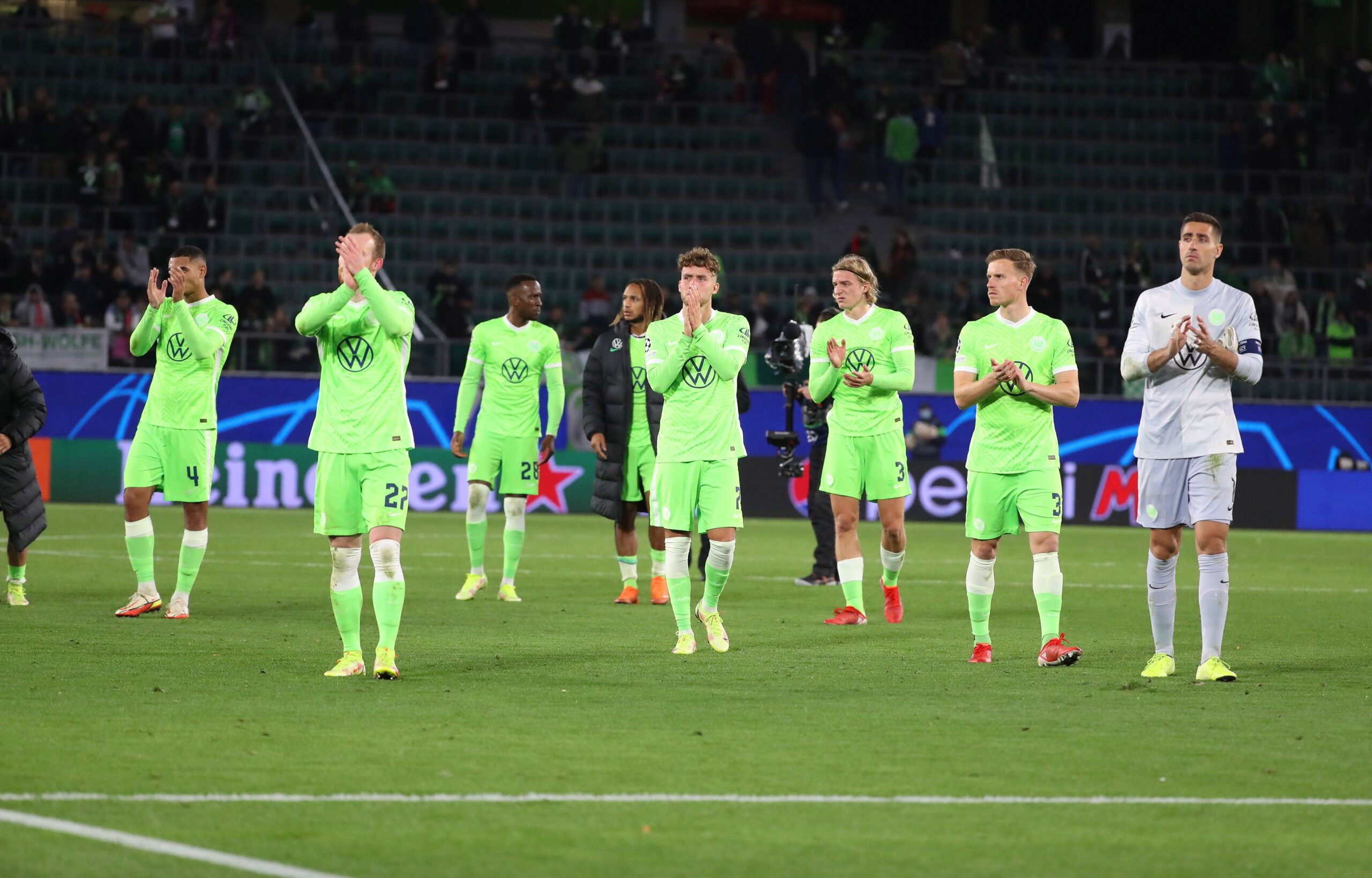 Wolfsburg vrea trei puncte cu Gladbach